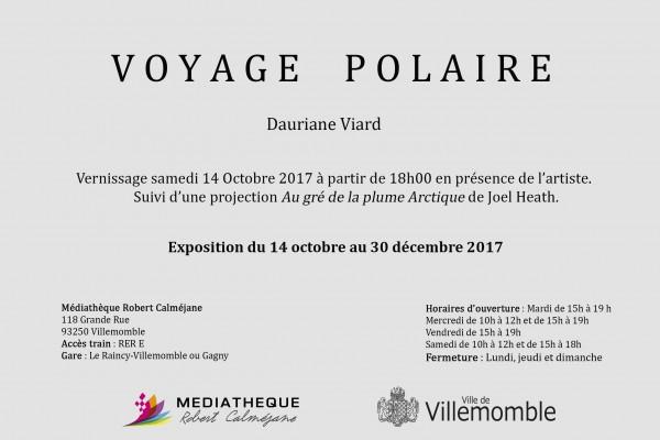 Invitation Voyage Polaire
