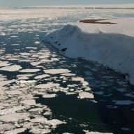 Banquise d'été arctique