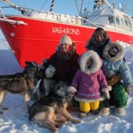 Le voilier polaire Vagabond